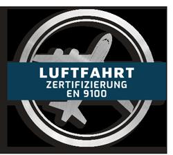 Icon luftfahrt zertifizierung EN